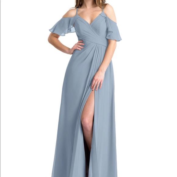 84d68c9cd81 Azazie Dresses   Skirts - Azazie Dakota Dress in Dusty Blue